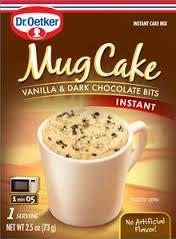 Mug Cake Vanille Chocolade
