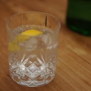 gin tonic citroen