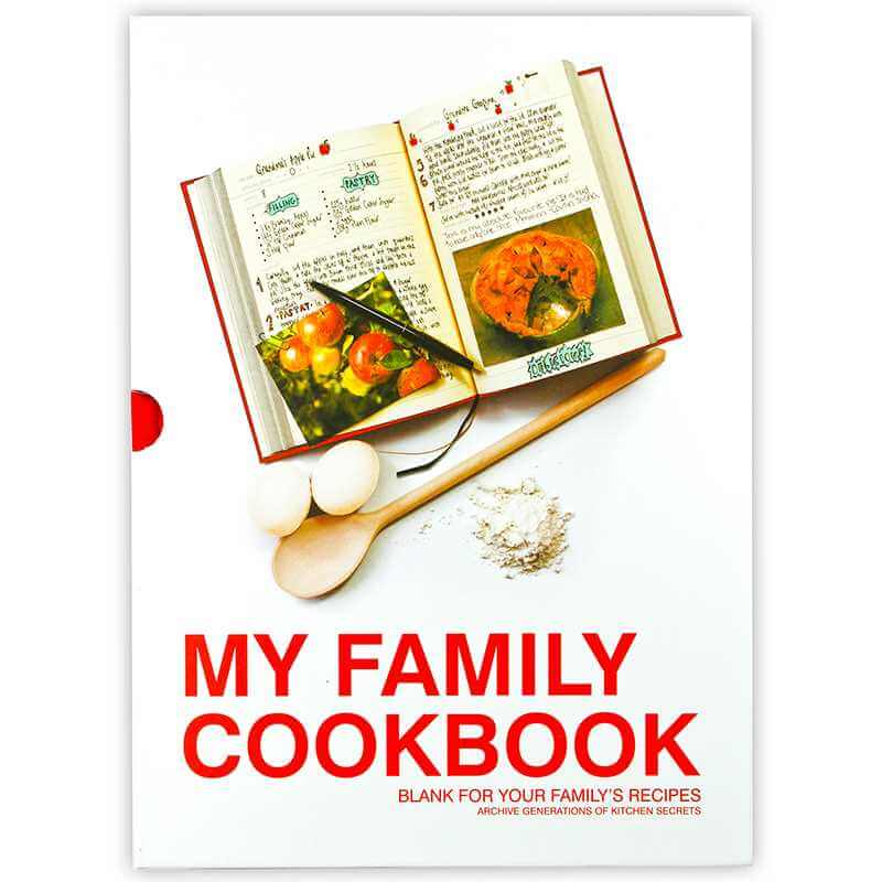Family Cookbook Cover : My family cookbook viving