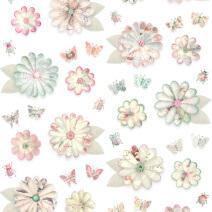 Studio Ditte - Viving.nl - behang bloemen