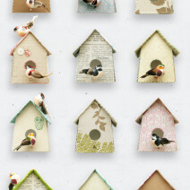Studio Ditte - Viving.nl - behang vogel