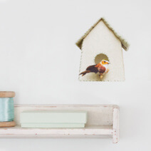 Studio Ditte - Viving.nl - muurstickers_vogelhuisje_greenflowers