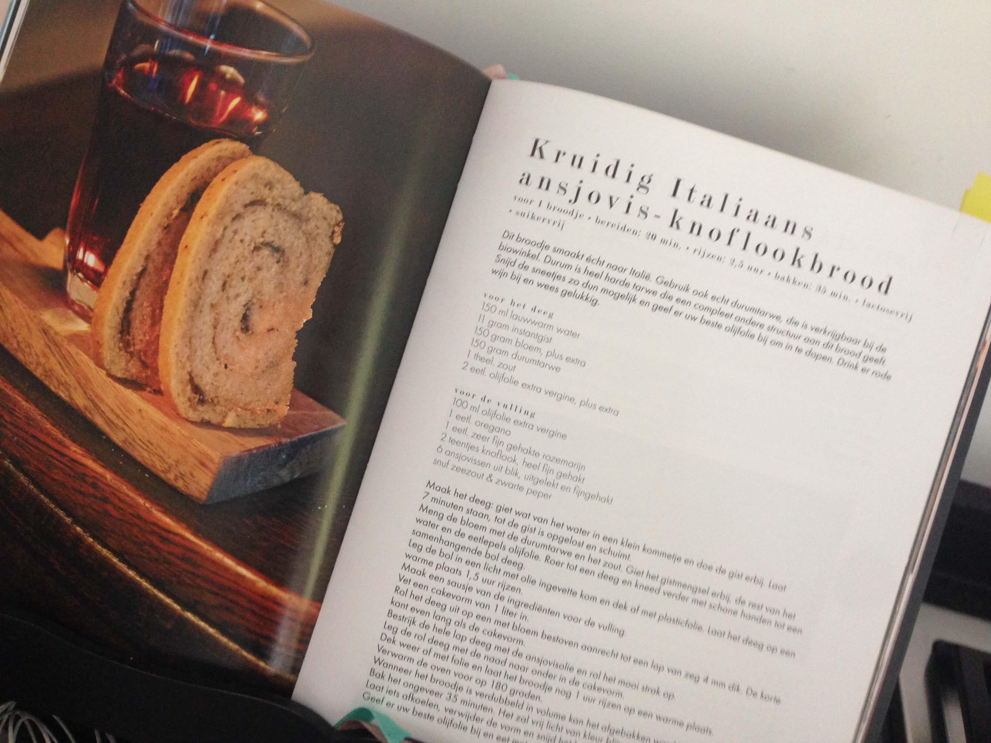 Ansjovis Knoflookbrood 2| Viving