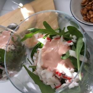 Krabsalade met avocado | Viving.nl