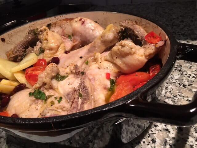 Ovenschotel met Kip en Tomaat